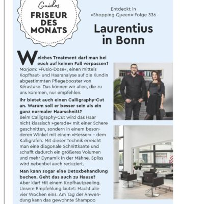 Friseur Bonn - Guidos Salon des Monats - Magazin Seite 1