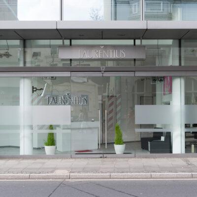 Friseursalon Bonn - Eingang