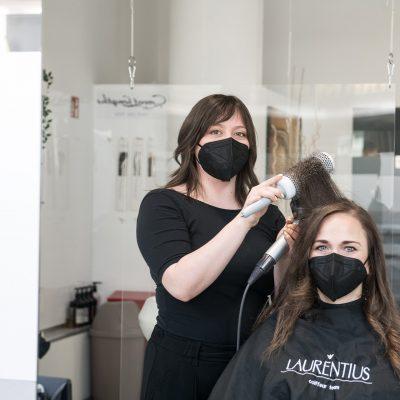 Friseur Bonn - Haare föhnen Damen