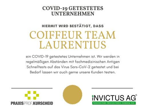 Friseur Bonn - Covid-19 getestetes Unternehmen